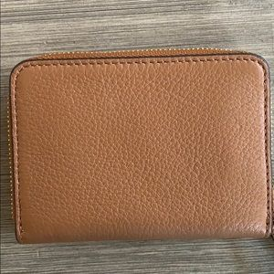Tory Burch Accessories - Tory Burch card holder wallet. Saddle brown.